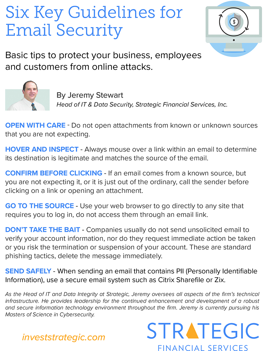 Ask the Expert: Six Key Guidelines for Email Security