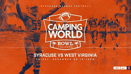 Syracuse Football Selected To Play In Dec 28 Camping World Bowl