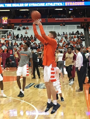 Syracuse Basketball Schedules Carleton University For Second