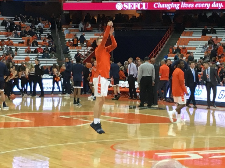 What Channel Is The Syracuse Basketball Game On Vs Boston
