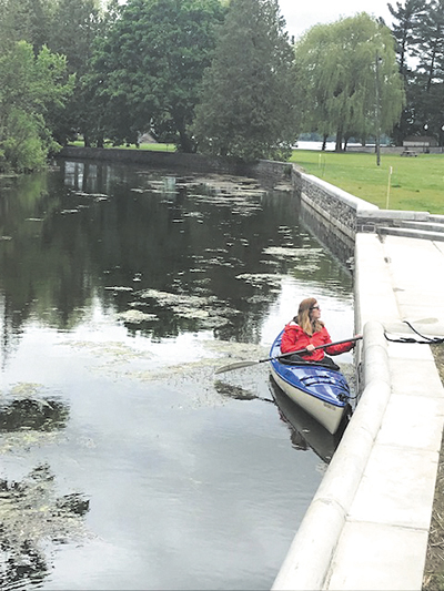 New kayak, canoe launch funded by Canal Corp  opens on