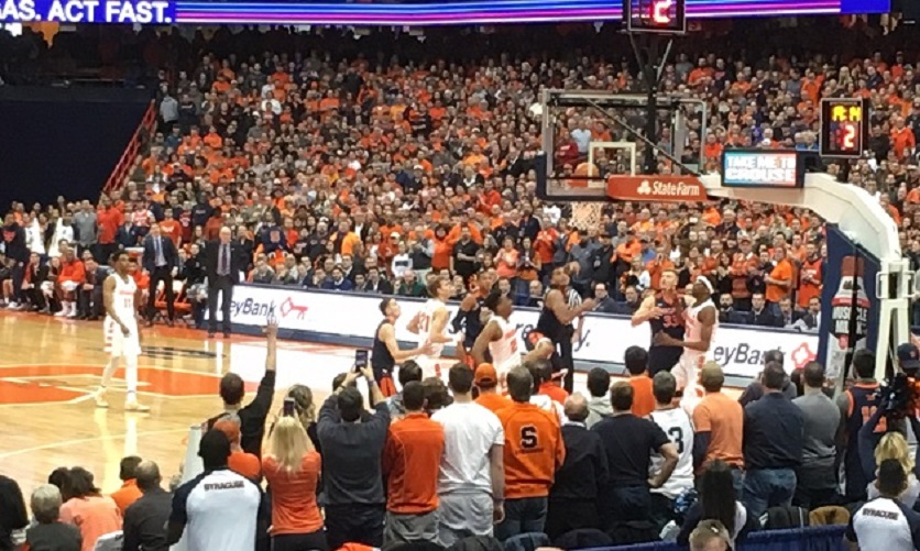 Virginia men's hoops falls to Syracuse in overtime, 63-55