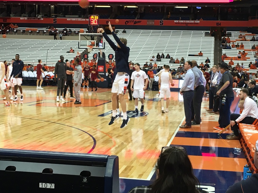 Syracuse, Buffalo men's hoops on pause after positive test