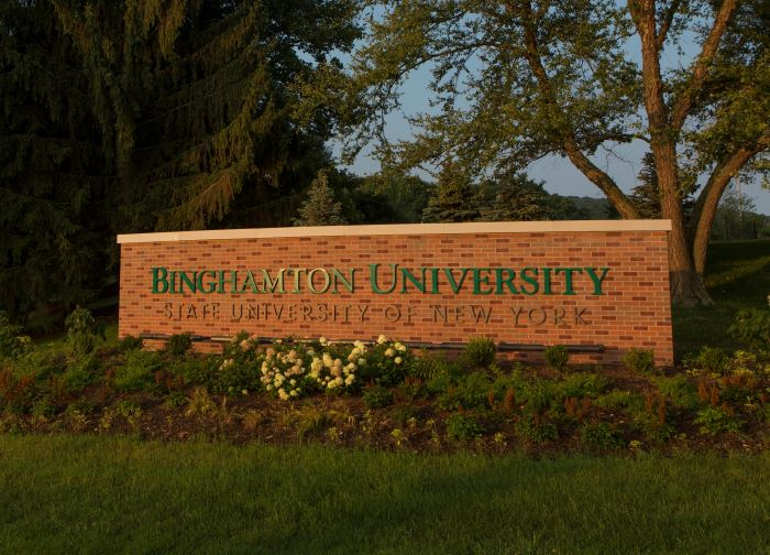Binghamton Calendar 2022.Binghamton University To Shift To Remote Learning Thursday Over Covid 19 Concern