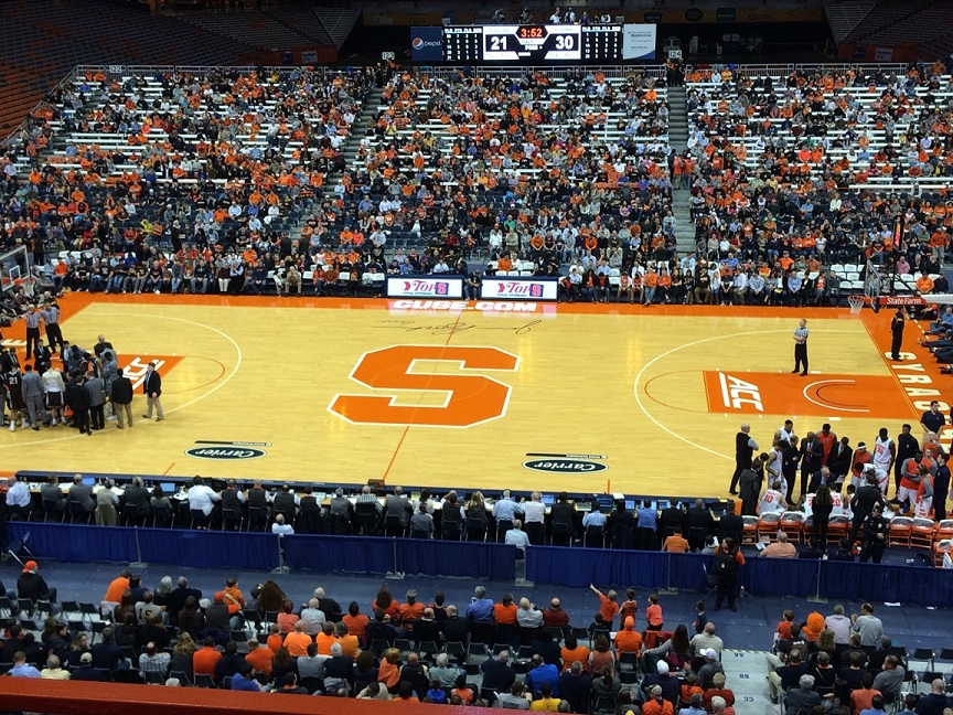 Syracuse University Men S Basketball Rolls Out Full 2016 17 Schedule
