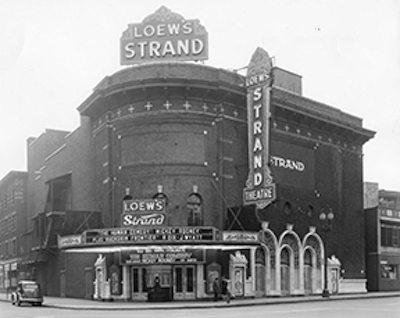 The Strand Theater Opened To Silent Movie Going Public In Syracuse At 6 30 P M On Wednesday March 17 1915