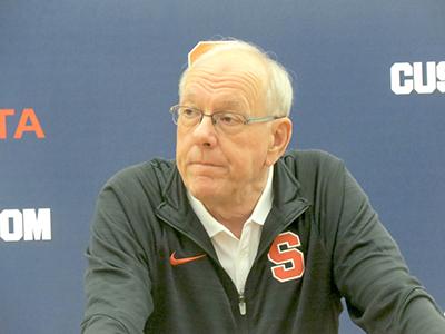 Boeheim Discusses Upcoming Men S Basketball Season During Team S
