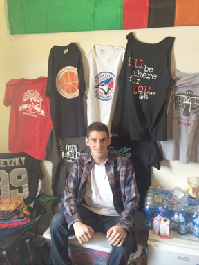 Student-run custom-apparel company Fresh Prints sees revenue