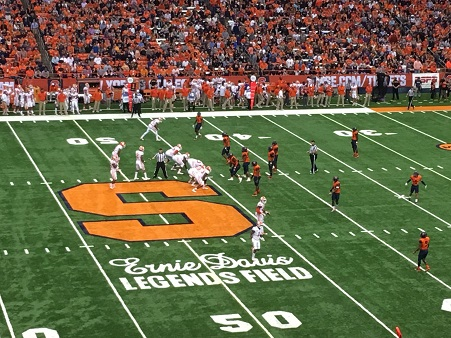 Rutgers adds Syracuse, drops UCLA in 2020-21, source says