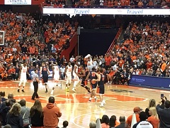 Syracuse basketball at Carrier Dome